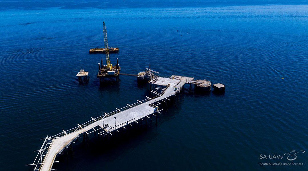 Drone oil and gas inspection
