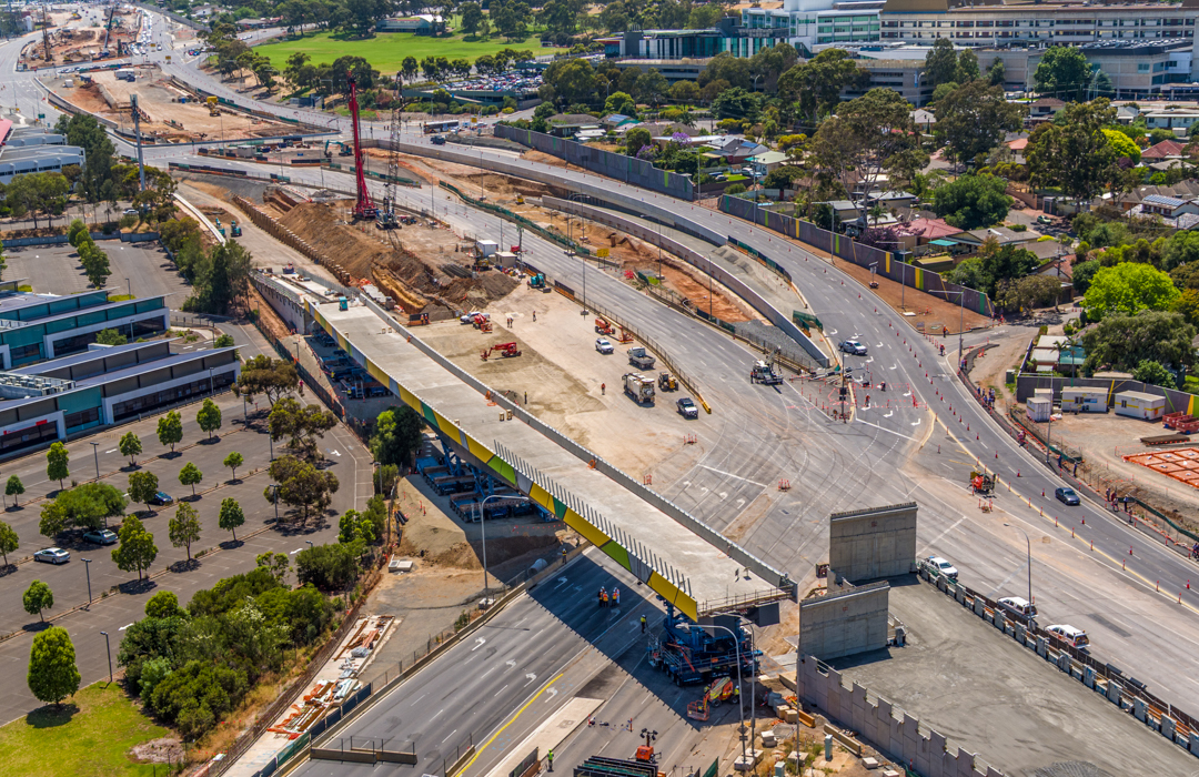 construction drone photography Adelaide